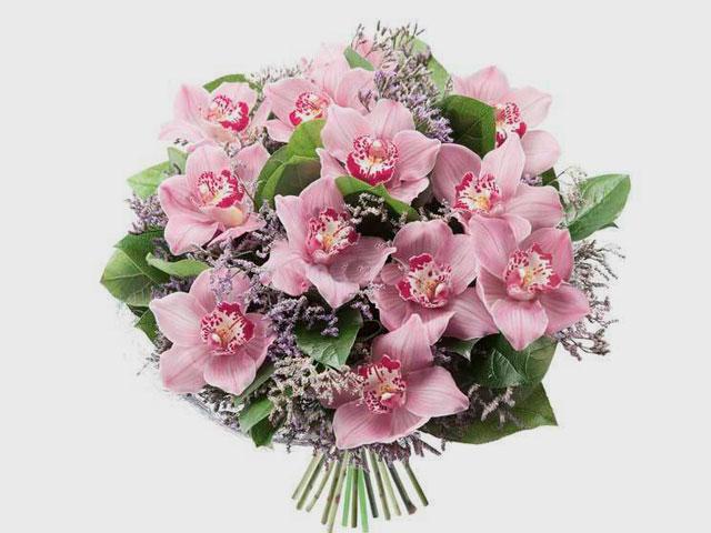 Букет красивые цветы фото