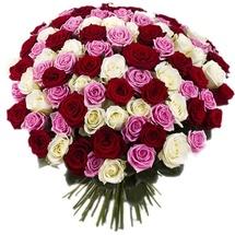 Восхитительный букет роз в Липецке недорого